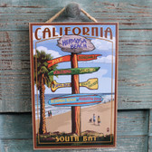 Hermosa Beach Destination Sign