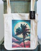 Moon & Palm Tote Bag