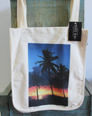 Palms & Sunset Tote Bag