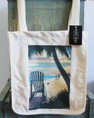 Adirondack Chair & Palm Tote Bag