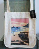 Woody on the Beach Tote Bag