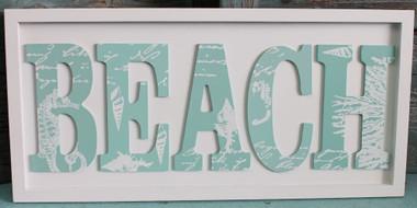 Beach Word Plaque