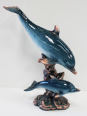 Double Dolphin Figurine