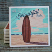 Life is a Beautiful Ride Surfboard
