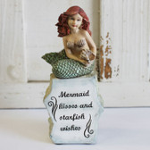 Mermaid Kisses and Starfish Wishes Statue