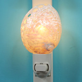 Pearl Abalone Night Light On