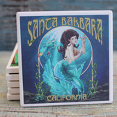 Santa Barbara Blue Mermaid Coaster