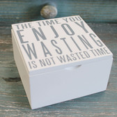 The Time You Enjoy Wasting is Not Wasted Time
