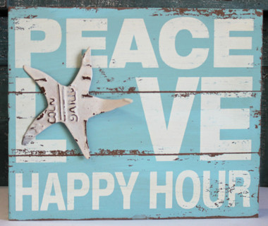 Peace Love & Happy Hour