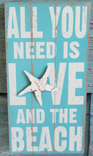 All You Need is Love an the Beach