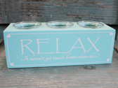 Relax Votive Candle Holder