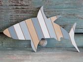 Wood Shark Wall Decor