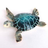 Blue Sea Turtle Figurine