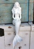 Shelf Sitter Mermaid with Crown