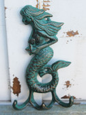 Green Iron Mermaid Triple Hook