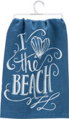 I Love the Beach Towel