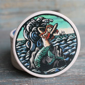 Mermaid Scratchboard Car Coaster