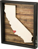 California Shadow Box Sign