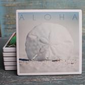Aloha Sand Dollar Coaster
