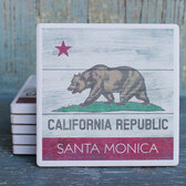 Santa Monica, California Republic Coaster