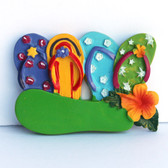 Colorful Sandal Magnets