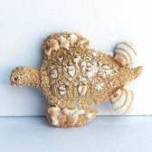 Resin Sea Turtle Magnet