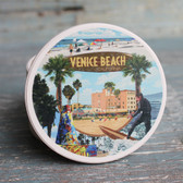 Venice Beach Montage Car Coaster