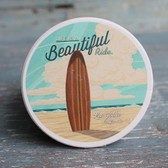 Life is Beautiful Surfboard - La Jolla