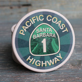 Santa Barbara PCH Car Coaster