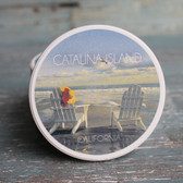 Catalina Island Adirondack Chair Car Coaster