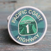 PCH Pacific Coast Highway Car Coaster