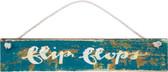Flip Flops Slat Sign