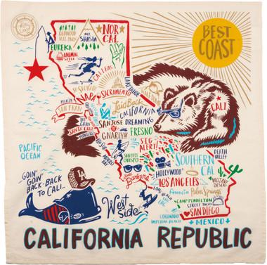 California Republic Dish Towel