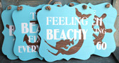 Coastal Beach Sign Set
