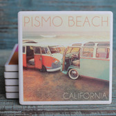 Pismo Beach VW Vans Coaster