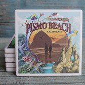 Pismo Beach Coastal Views coaster