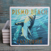Great White Shark Psimo Beach Coaster