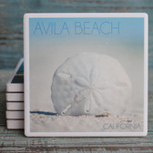 Sand Dollar Avila Beach Coaster