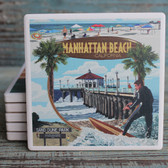 Manhattan Beach Montage coaster