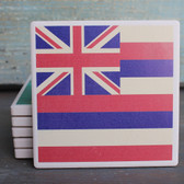 Hawaiian State Flag coaster