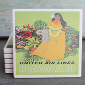 Hawaii Vintage United Air coaster