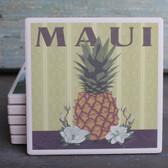 Maui Pineapple coaster
