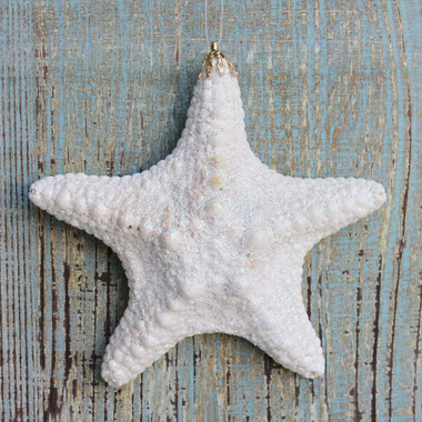 Jungle Starfish Glitter Ornament