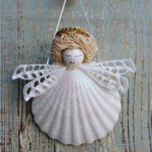 Blonde Halo Shell Angel