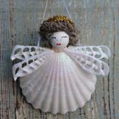 Halo Shell Angel Ornament