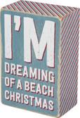 I'm dreaming of a beach Christmas