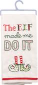 The elf made me do it!