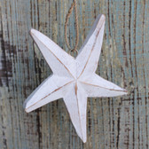 Wood Starfish Ornament