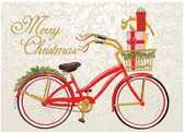 Merry Christmas Bicycle Cards