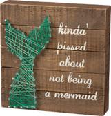 Mermaid Tail String Art